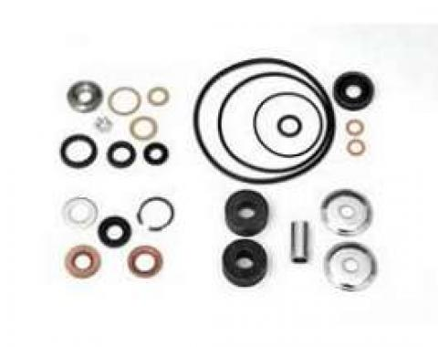 Chevy Power Steering Rebuild Kit, Without Hoses, 1955-1957