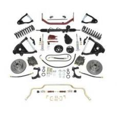 Chevy Complete Independent Front Suspension Kit, Small Block, With Standard Coil Springs, 1955-1957