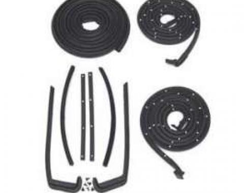 Chevy Weatherstrip Kit, 2-Door Hardtop Or Convertible, 1955-1956