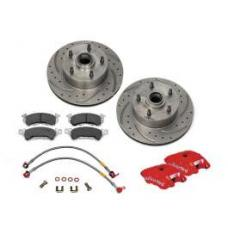 Chevy Disc Brake Upgrade, Wilwood, Front, 1955-1957