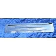 Chevy Polished Stainless Steel 6 Cylinder, 235, 261, Side Cover, 1955-1957