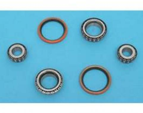 Chevy Wheel Hub Tapered Bearing & Seal Kit, Front, 1955-1957