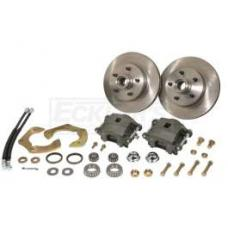 Chevy Front Disc Brake Kit, For Complete Performance Package Suspension Kit Only, 1955-1957