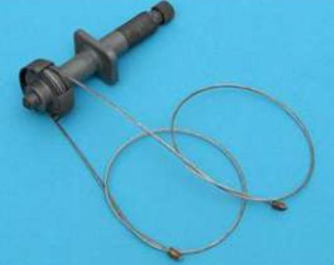 Chevy Windshield Wiper Transmission, Rebuilt, Left, 1955-1956