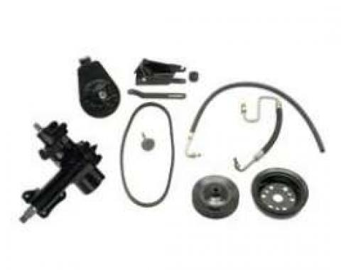 Chevy Complete Power Steering Kit, 670, Small Block, 1955-1957