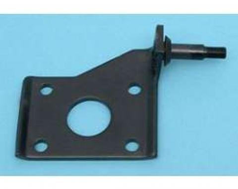 Chevy Shock Mounting Plate, Left, Lower, Rear, 1955-1957