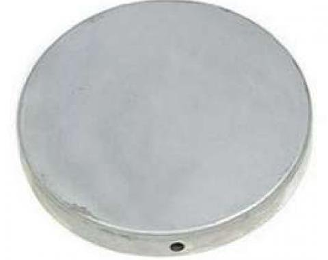 Chevy Air Duct Blower Hole Cover, 1957