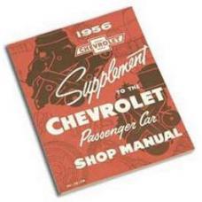 Chevy Shop Manual, 1956