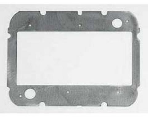 Chevy Heater Core Mounting Plate, Deluxe, 1957