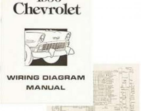 Chevy Wiring Harness Diagram Manual, 1956