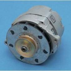 Chevy Alternator, Rebuilt, 55 Amp, For Use With External Voltage Regulator, 1955-1957