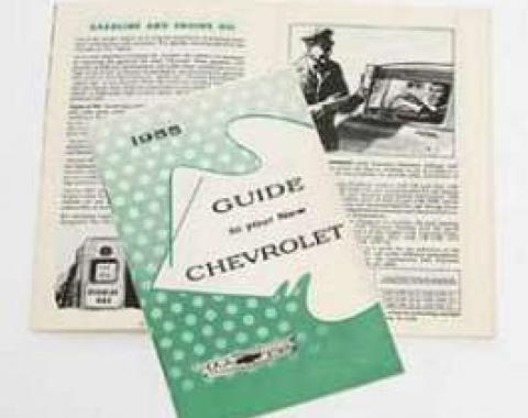 Chevy Owner's Manual, 1955
