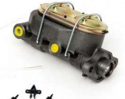 Chevy Dual Master Cylinder, Non-Power Disc Brakes, 1955-1957