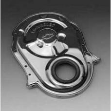 Chevy Chrome Chevrolet Bowtie Big Block Timing Chain Cover, 1955-1957