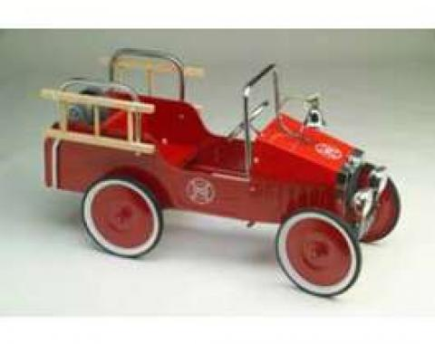 Pedal Car, 1938 Fire Truck, Red