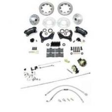 Chevy Disc Brake Kit, Wilwood, Power, Front, Complete, 1956-1957
