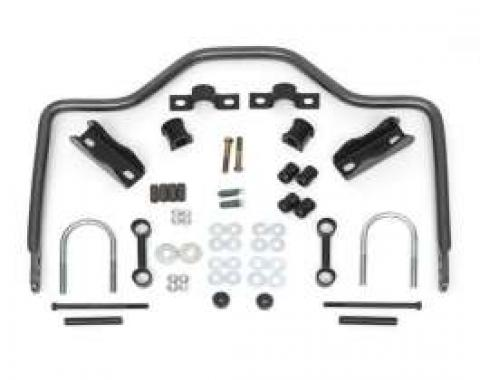 Chevy Anti-Sway Bar Kit, Rear, Fully Adjustable, Wagon & Non-Wagon, Hellwig, 1955-1957