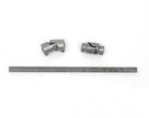 Chevy Rack & Pinion Steering Shaft, With ididit Tilt Column Shift, 1955-1957