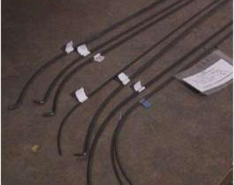 Chevy Headliner Wire Bows, 2-Door Hardtop, 1956-1957