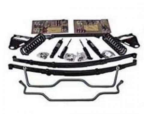 Chevy Ultimate Lowering Kit, For 2-Piece Frames, 1955-1957