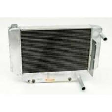 Chevy Cross-Flow Radiator, Aluminum, Griffin, LS1, LS2, LS3& LS6, 1955-1957