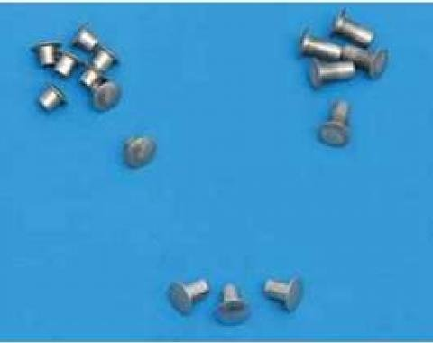 Chevy Vent Window Rivet Set, Stainless Steel, 1955-1957