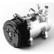 Chevy Air Conditioning Compressor, Chrome, Sanden 508, 134A,Serpentine System, 1955-1957
