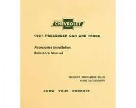 Chevy Accessory Installation Manual, 1957