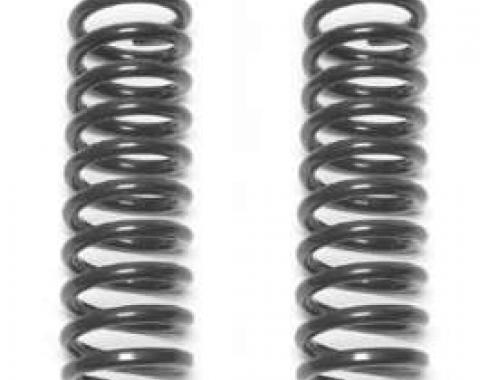 Chevy Front Lowering Coil Springs, 2, 1955-1957