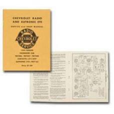 Chevy Radio Manual, 1955
