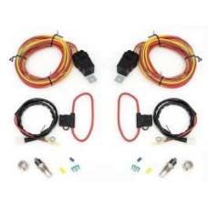 Chevy Cross-Flow Dual Fan Relay & Wiring Kit, Griffin, 1955-1957