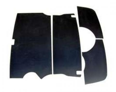 Chevy Trunk Upholstery Panel Kit, ABS 1, 4 Plastic, 1955-1957