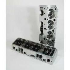 Chevy Cylinder Heads, Angle Plug, Small Block, Aluminum, Patriot Performance, 1955-1957