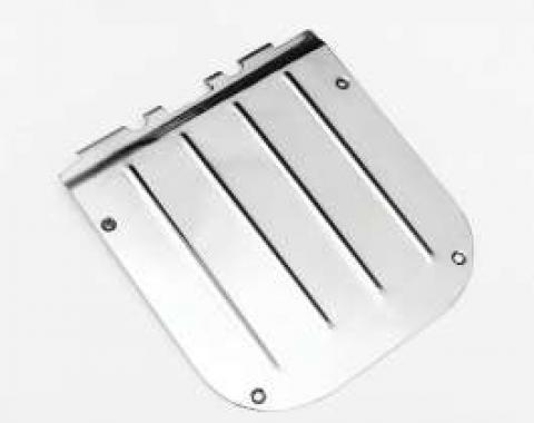 Chevy Tailgate Access Cover, Stainless Steel, Nomad, Wagon, 1955-1957