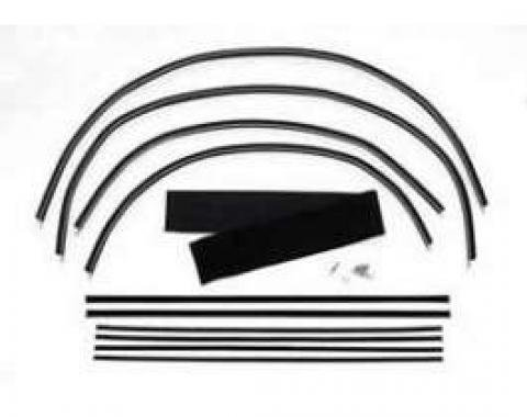 Chevy Window Felt Kit, Nomad, 1955-1957