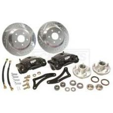 Chevy Front Disc Big Brake Kit, For Complete Performance Package Suspension Kit Only, 1955-1957