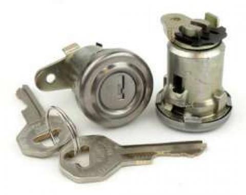 Chevy Door Locks, With Original Style Keys, 1956 Hardtop Or Convertible & 1957 4-Door Hardtop, 1956