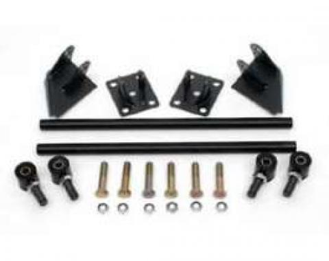 Chevy Traction Bar Kit, Use With Leaf Springs In Stock Location, 1955-1957