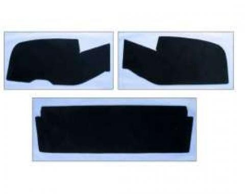 Chevy Trunk Upholstery Panel Kit, ABS Plastic, 1955-1957