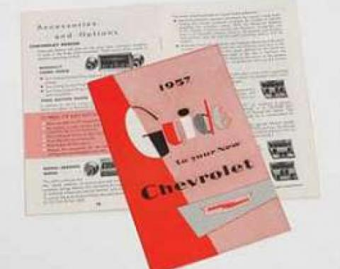 Chevy Owner's Manual, 1957