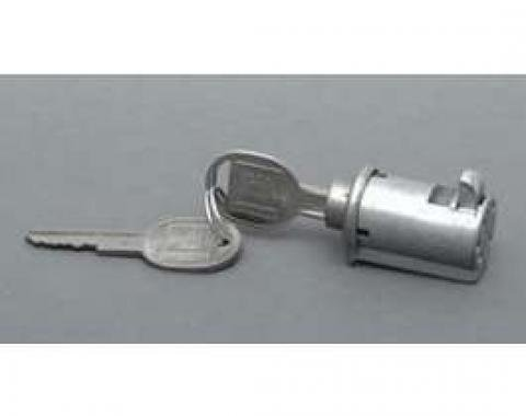 Chevy Glove Box Lock Set, With Late Style Keys, 1955-1957