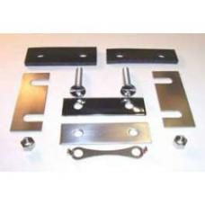 Chevy Radiator Core Support Hardware Kit, Stainless Steel, 1955-1957