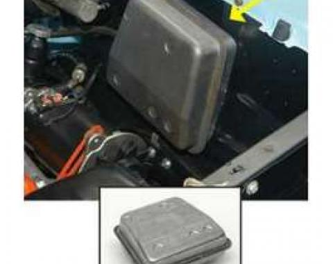 Chevy Treadle-Vac Power Brake Vacuum Reservoir Tank, 1957