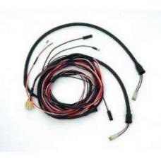 Chevy Taillight Wiring Harness, 2-Door Wagon, 210, 1955