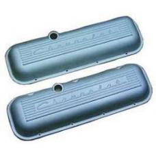 Chevy Aluminum Valve Covers, With Chevrolet Script, Big Block, 1955-1957