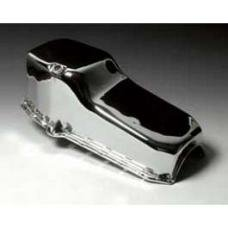 Chevy Engine Oil Pan, Small Block, Chrome, 1955-1957