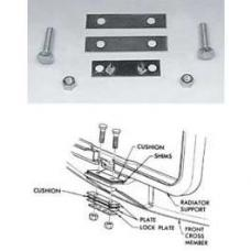 Chevy Radiator Support Mounting Kit, 1955-1957