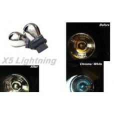 Light Bulbs, 3156, Chrome X5 Lightning White Silver Stealth