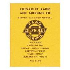 Chevy Radio Manual, 1956