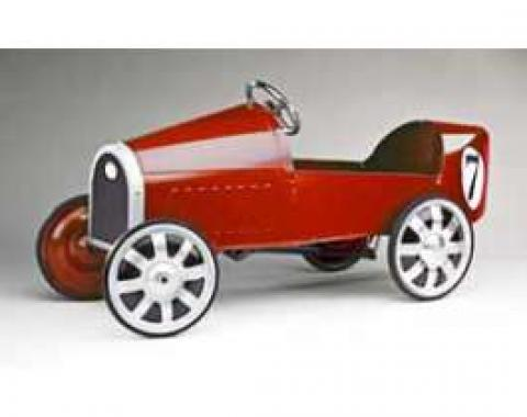 Pedal Car, Sporty, Red